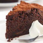 O meu bolo húmido de chocolate preferido