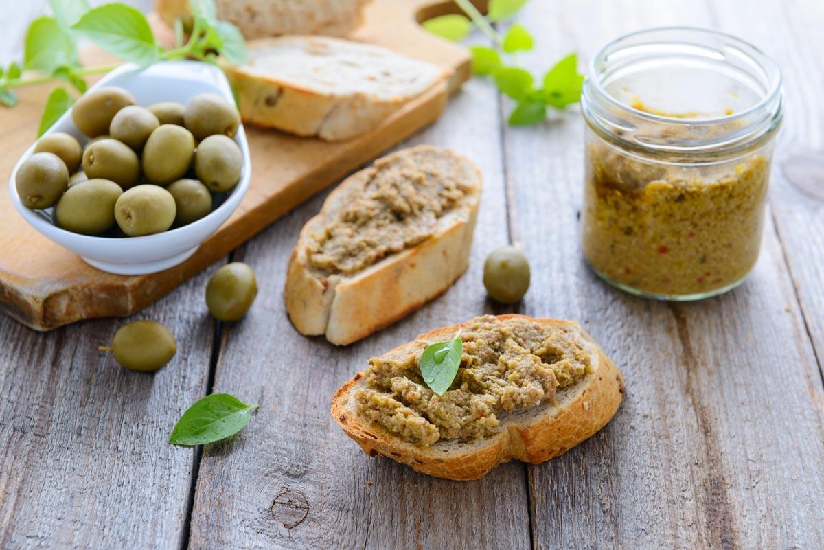 Paté de Azeitona Verde