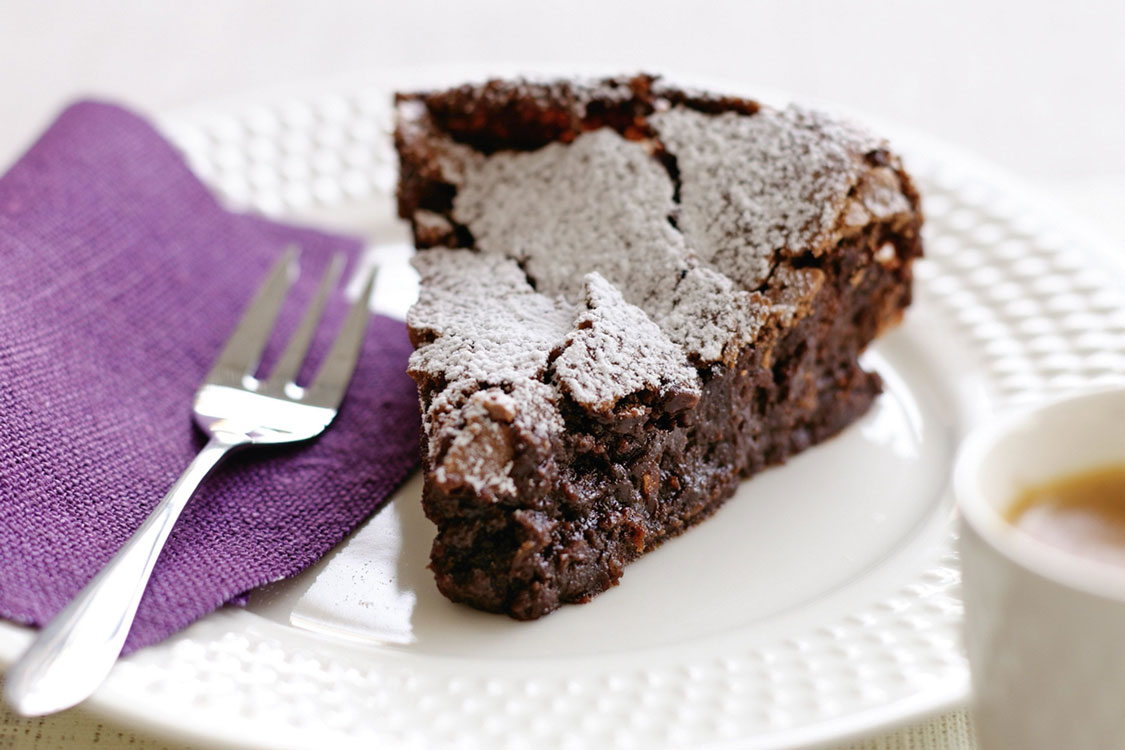 Food Network Flourless Chocolate Almond Cake